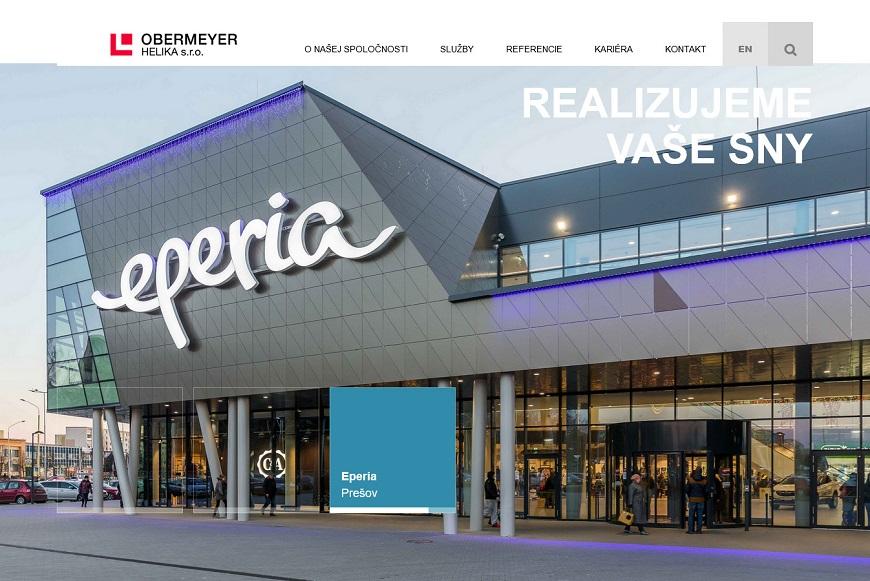 projektovanie obchodných centier
